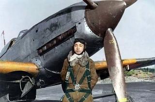 Imagine atasata: Ki-61 Tony + pilot.jpg